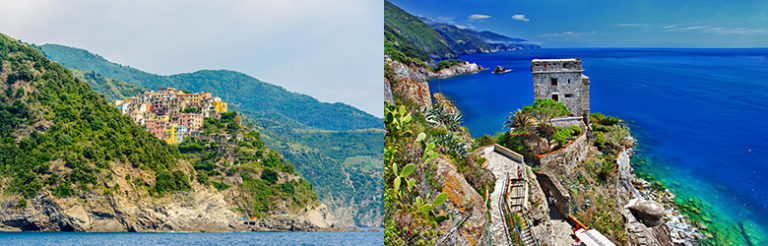 Cinque Terre på egenhånd