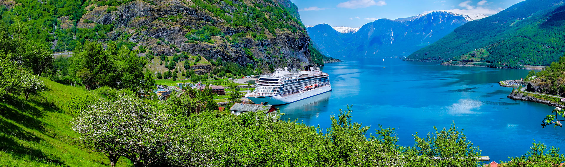 Aurlandsdalen i Norge