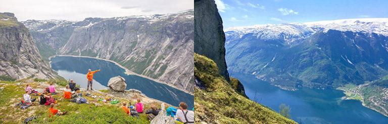 Hiking to Trolltunga in Norway