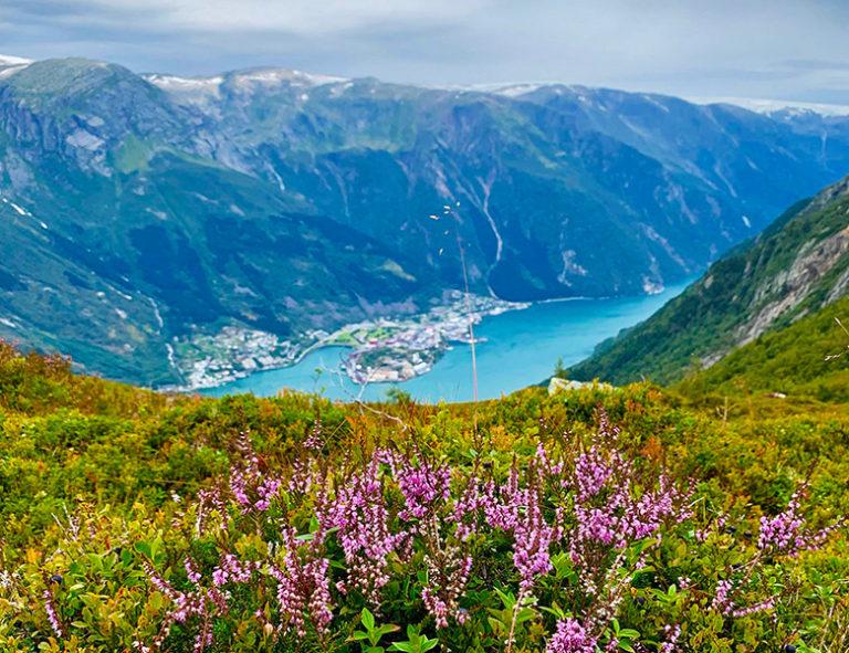 Odda in Norway