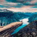 Spektakulære Trolltunga i Norge