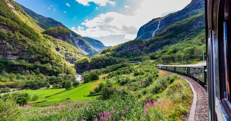Flåmbanen in Norway