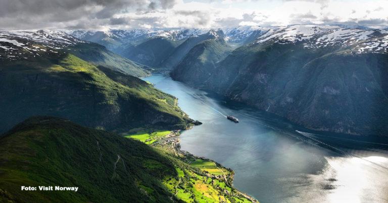Norge, Aurlandsfjorden