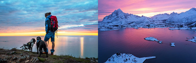 Aktiv ferie i spektakulære Lofoten, Norge