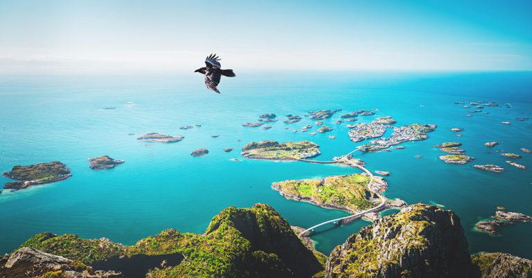 Aktive dager i Lofoten, Norge