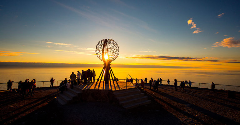 North Cape in Norway