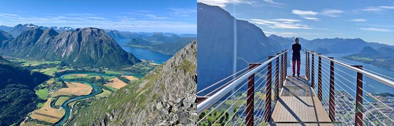 Fottur over Romsdalseggen, med Rampestreken, Norway