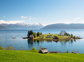 Hardangerfjorden rundt - på cykel