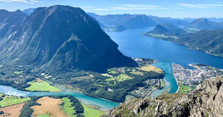 Åndalsnes, Romsdalen, Norway
